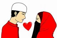 Gambar Kartun Islam Suami Istri Top Gambar