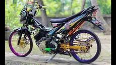 Motor Satria Modifikasi by Top Modifikasi Motor Fu Terbaru Modifikasi Motor
