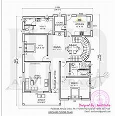 Elevation And Free Floor Plan Home Kerala Plans
