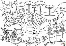Ausmalbilder Dinosaurier Ankylosaurus Ausmalbild Ankylosaurus Dinosaurier Ausmalbilder