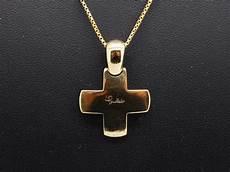 croce pomellato ciondolo croce pomellato in oro giallo 18kt misura piccola