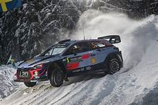 rally de suede 2018 rally sweden neuville leads hyundai one two three the