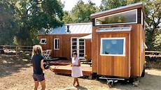 vina lustado s home office using 2 tiny houses in quot l quot deck youtube
