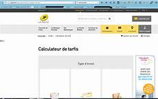 la poste calculateur de tarif