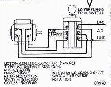 single phase 4 pole motor wiring diagram impremedia net
