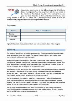 punctuation worksheets ks3 tes 20820 proofreading ks3 writing key stage 3 resources