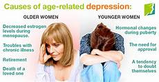 Depressionen Symptome Frau - differences in depression in and younger