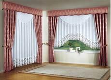 fensterdekoration in verschiedenen farben gardinen bader