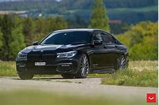 Bmw 7 Series Upgraded With Some Gorgeous Vossen Wheels