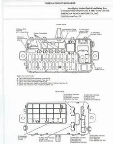 95 honda accord engine wiring diagram civic eg view topic 92 95 civic fuse box diagrams engine bay and dash รถยนต