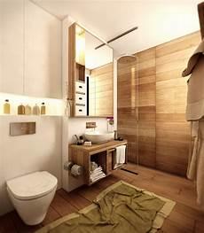 Badezimmer Ideen Holz - wood floor bathroom interior design ideas