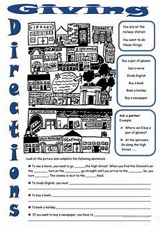 giving directions worksheets islcollective 11706 giving directions worksheet free esl printable worksheets made by teachers