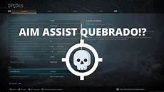 warzone aim assist not working atualiza 199 195 o secreta aim assist warzone saiba configurar cod warzone youtube