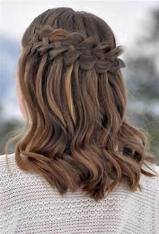 long bob braid brides