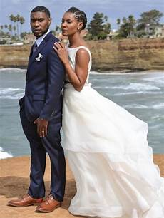 black wedding moment this couple eloped the in san diego essence
