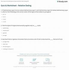 earth science relative dating worksheet 13274 earth science chapter 6 relative dating worksheet quiz worksheet 2019 08 03