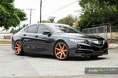 2015 acura tlx 20 quot rennen crl 70 custom painted lowered h r springs