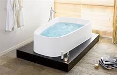 Freistehende Badewanne Einbauen - hoesch badewannen bad singlebath duo