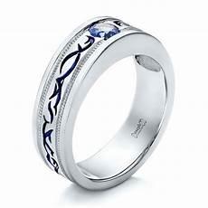 custom purple sapphire men s wedding band 102302 seattle bellevue joseph jewelry