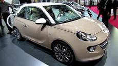 2013 opel adam glam exterior and interior walkaround