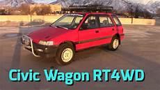 Honda Civic Kombi - 1991 honda civic wagon rt4wd walk around