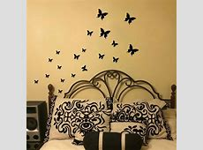 Butterfly Wall Stickers DIY Wall Decals Vinyl Mural Wall