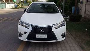 Front Bumper With Grill Corolla 2016 Lexus Style For Sale