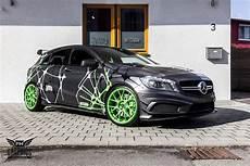 M T C H B X Design Am Mercedes A45 Amg Schwabenfolia
