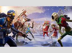 Fortnite Winter Season UHD 4K Wallpaper   Pixelz