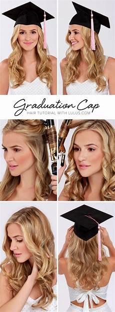 lulus how to graduation cap hair tutorial cap