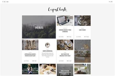 corpuschristi v1 16 modern blog wordpress theme