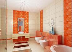 Bathroom Ideas Orange by 20 Fresh Orange Bathroom Ideas Home Design And Interior
