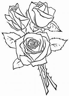 три розы раскраска 9411 printonic ru