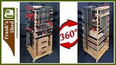 mobile selber bauen mobile 360 176 schraubzwingen halterung regal selber bauen