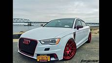 Dia Show Tuning Audi A3 8v Forgestar F14 Blutrot By
