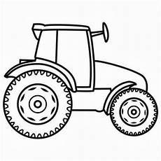 Einfache Ausmalbilder Traktor Traktor Malvorlagen