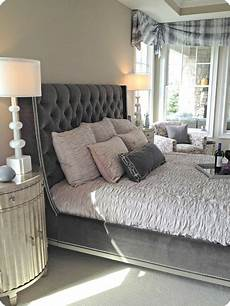 Bedroom Ideas Grey Headboard by Home Tours Part 2 From Thrifty Decor