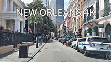 volvo of new orleans driving downtown new orleans 4k usa