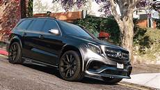 Mercedes Gls 63 Amg 2015 Add On Replace Animated