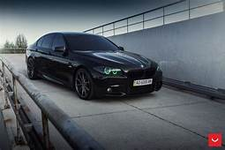 BMW 5er F10 In Schwarz Auf 20 Zoll Vossen VFS 1 Alufelgen