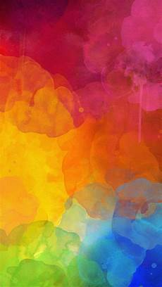 Watercolor Iphone Background by Colourful Watercolour Color Of Rainbow In Abstract