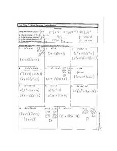 mixed factoring review answer key unit day 7 miexd