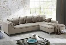 couch mit ottomane wohnlandschaft montego ecksofa sofa couch mit ottomane mit