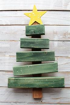 Tree From Scrap Wood A And A Glue Gun