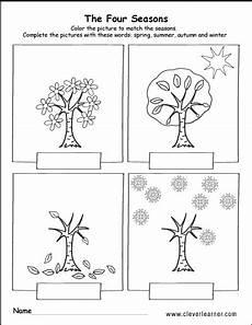 four seasons worksheets for grade 2 14879 summer fall and winter free worksheets for preschools preschool seasons worksh