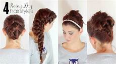 Hairstyles For Curly Hair On Rainy Days