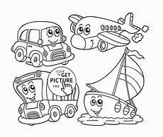 transportation coloring worksheets 15179 transportation coloring page for preschoolers coloring pages printables free