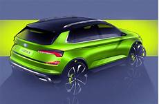 vision x skoda skoda vision x small suv concept previews 2019 production