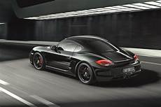 New Porsche Cayman S Black Edition With 330 Horses And