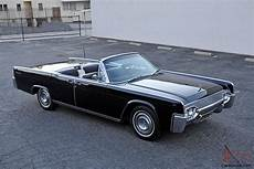 1961 lincoln continental convertible fully restored
